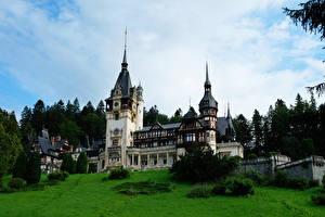 Фото Румыния Замки Peles Castle Transylvania