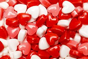 Картинка День святого Валентина Сладости Леденцы Сердечко