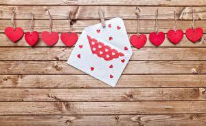 Фотографии День святого Валентина Доски Стенка Серце