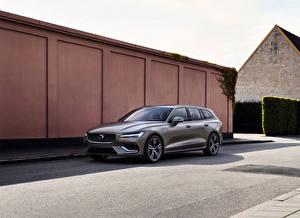Картинки Volvo 2018 V60 T8 Inscription Worldwide авто