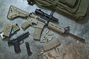 Картинки Автомат Пистолеты Патроны военные