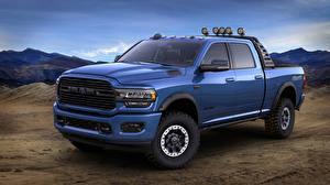 Картинки Dodge Пикап кузов Голубых Металлик 2019 Mopar Ram 2500 Heavy Duty авто