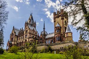 Обои Германия Замки Drachenburg Castle Города