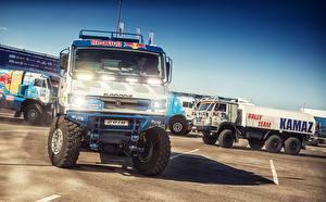 Фотография KAMAZ Гонки Dakar Silk Way 1988 машины