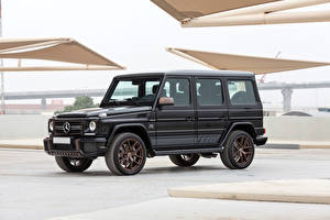Картинка Мерседес бенц SUV Черный 2018-19 AMG G 65 Final Edition Worldwide Автомобили