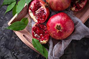 Картинки Гранат Зерна Продукты питания