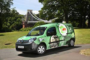 Фотографии Рено Салатовый 2018-19 Kangoo All-Electric Refrigerated Van Авто