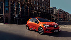 Фотография Renault Оранжевая Металлик 2019 Clio Worldwide автомобиль