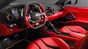 Обои Салоны Ferrari Автомобильный руль 812 Автомобили картинки