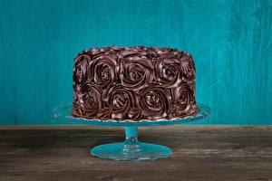 Картинка Сладости Торты Шоколад Дизайн Еда