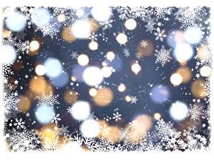Фото Текстура Рождество Снежинки
