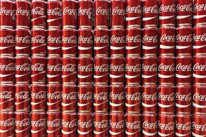 Обои Текстура Кока-кола