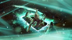 Фотография The Witcher 3: Wild Hunt Cirilla Gwent: the witcher card game компьютерная игра Девушки