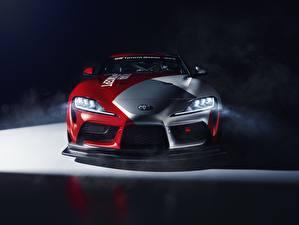 Фотография Стайлинг Тойота Спереди GT4 GR Supra