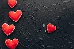 Картинки День святого Валентина Красная Сердечко Замковый ключ