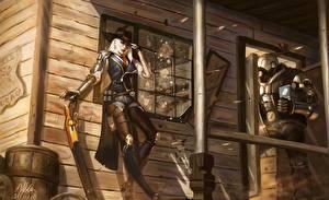 Картинка Воители Овервотч ashe bob elizabeth caledonia Девушки