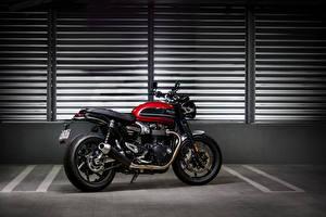 Фотографии Сбоку 2019 Triumph Speed Twin Мотоциклы