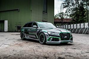 Обои Ауди Стайлинг 2018 ABT RS 6-E Avant Concept
