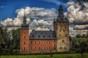 Фото Бельгия Замки Castle Beusdael Города