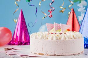 Фотография День рождения Торты Еда