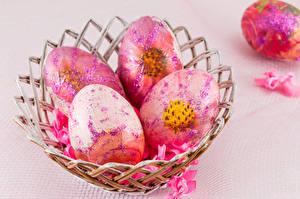 Фотография Пасха Цветной фон Яйца Дизайн