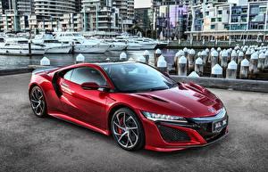 Фото Хонда Красный Металлик NSX
