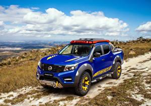 Фотография Nissan Стайлинг Пикап кузов Синие 2018-19 Frontier Sentinel Автомобили