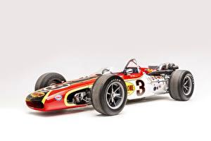 Обои Ретро Сером фоне 1968 Indianapolis 500-Mile Race AAR Eagle Open-wheel машины