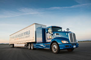 Фотографии Тойота Грузовики 2016-18 Fuel Cell Truck Prototype Авто