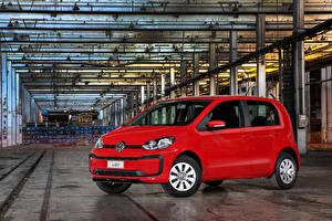 Картинка Volkswagen Красный Металлик 2017-19 MPI Latam машины
