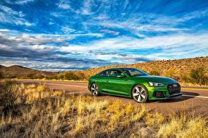 Фотография Ауди Зеленый Купе RS 5 Авто