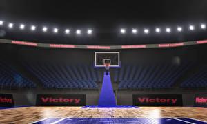 Обои Баскетбол arena
