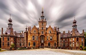 Фотографии Бельгия Замок Ooidonk Castle город