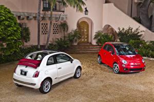 Фото Fiat Вдвоем Металлик 2007-19 500 авто