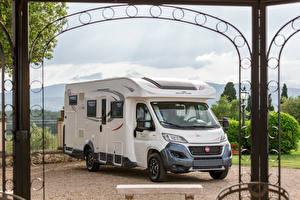 Фотографии Fiat Белый 2019 Roller Team Zefiro 298 TL Авто