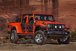 Фото Jeep Красный Пикап кузов 2019 Gladiator Gravity авто