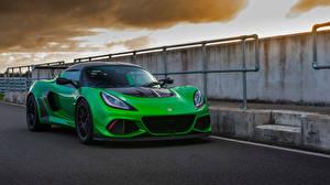 Фото Лотус Зеленый 2018-19 Exige Cup 430 автомобиль
