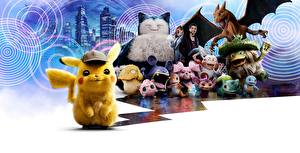 Картинка Монстр Pokémon Detective Pikachu Фильмы