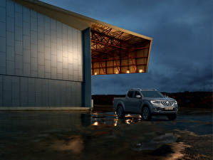 Фотография Рено Серая Пикап кузов 2019 Alaskan Worldwide автомобиль
