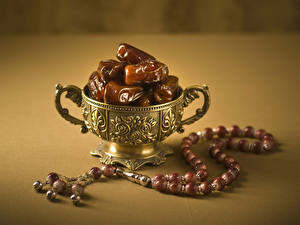 Фотографии Сладости Ваза Сухофрукты Пища