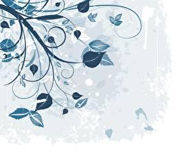 Фотографии Текстура Растения Листва