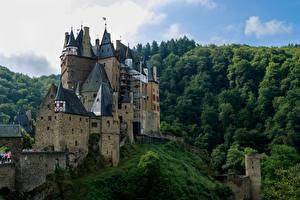 Фото Замок Лес Германия Burg ELZ, Rhineland-Palatinate