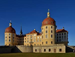 Обои Замок Германия Moritz Castle, Saxony