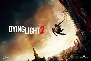 Обои Dying Light 2 Прыжок компьютерная игра
