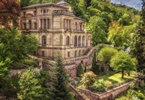 Фотографии Германия Здания Вилла Villa Lobstein