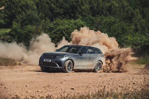 Фотография Range Rover Серый CUV 2019 Velar SVAutobiography Dynamic Edition Worldwide автомобиль