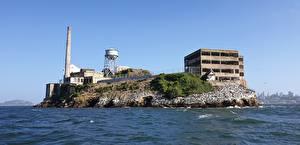 Фото Штаты Остров Калифорния Сан-Франциско Тюрьме Города