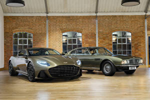 Картинка Aston Martin Вдвоем 2019 OHMSS DBS Superleggera машина