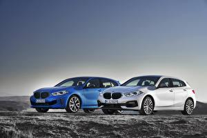 Обои BMW Двое 2019 1 Series Автомобили картинки