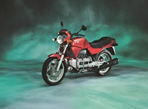 Фотографии БМВ Винтаж Красных 1983-92 K 100 мотоцикл